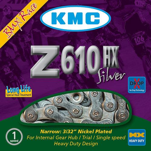 KMC Z610-HX Silver Chain