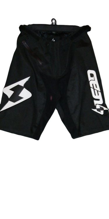 Lead Shorts Crossbroek Black/White