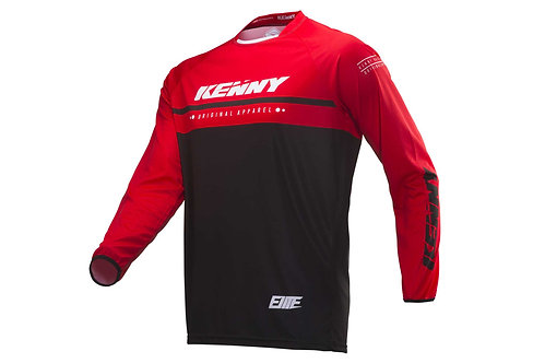 Kenny Elite Long Sleeve Jersey Black & Red