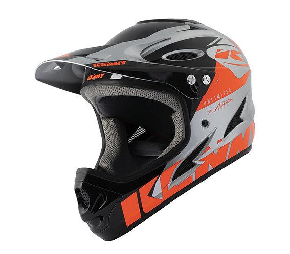 Kenny Down Hill Helmet Neon Orange Silver 2021