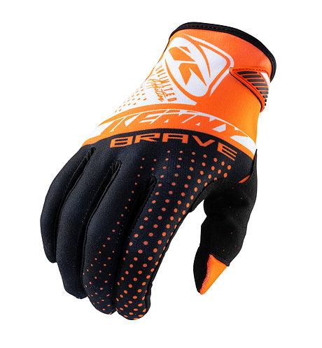 Kids Brave Gloves Orange 2022