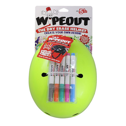 Wipeout The Dry Erase Helmets