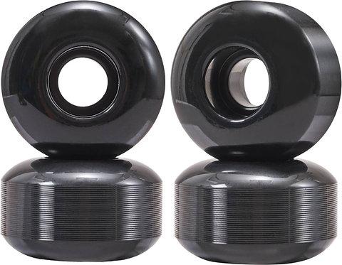 Essentials Black Skateboard Wheels 4-Pack (52mm - 99A)