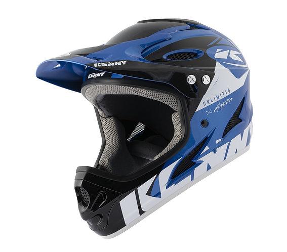 Kenny Down Hill Helmet Blue Black 2021