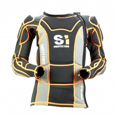 S1 Defense Pro 1.0 Jacket Black/Orange