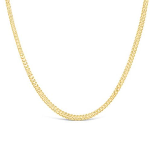 9ct Gold Franco Chain (1.4mm)
