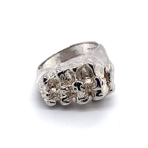 Men's Clenched Fist Ring