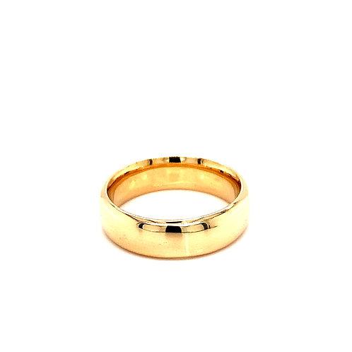 Men's Traditional Court Medium Weight Wedding Ring