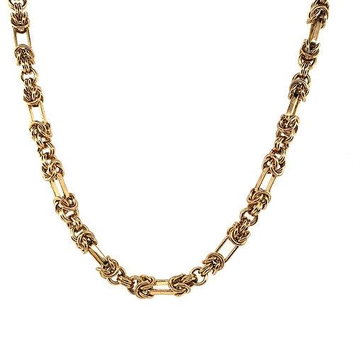 9 ct Bespoke Byzantine Style Chain