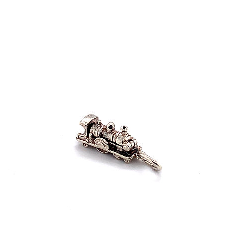 Steam Train Silver Charm