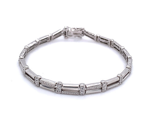 Luxury and Glamour Tennis Bracelet
