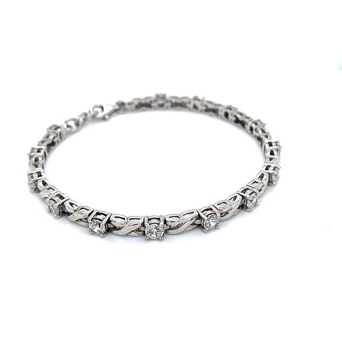 Elegant and Sophisticated Tennis Bracelet
