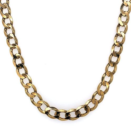 9ct Flat Curb Chain