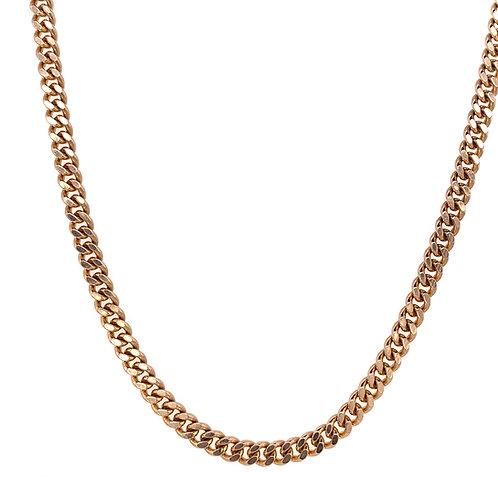 9ct Gold Flat Curb Chain