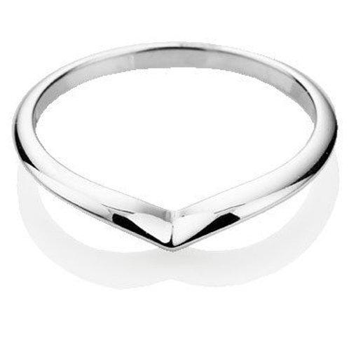 Plain Wishbone Ring