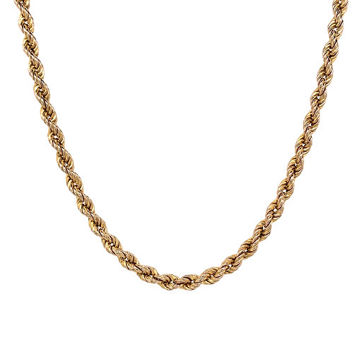 9ct Gold Triple Rope Chain