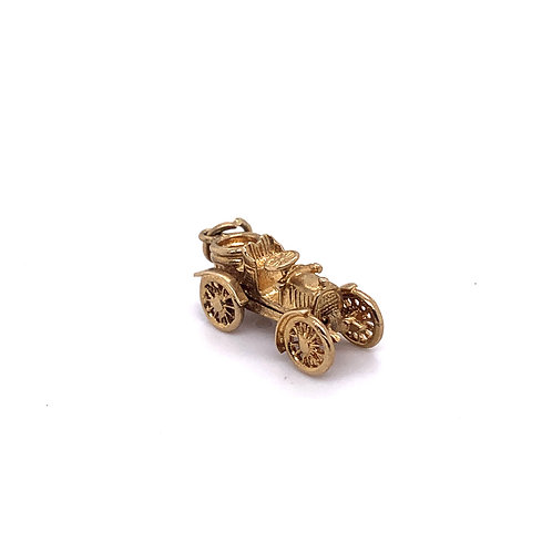 Classic Car Charm in 9K Gold