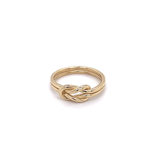 9ct Gold Infinity Knot Ring