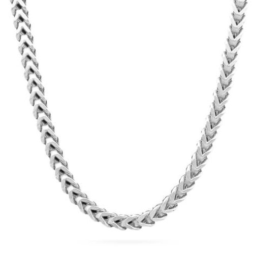 Silver Franco/Foxtail 2.4mm