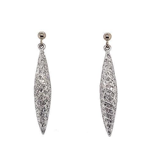 Diamond Encrusted  Earrings