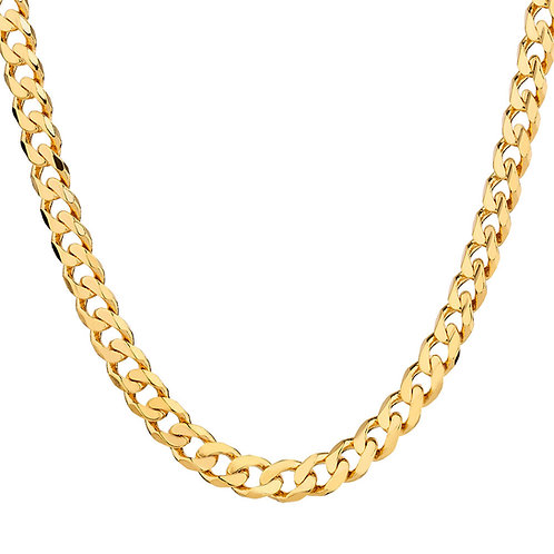 9ct Yellow Curb Chain (5mm)