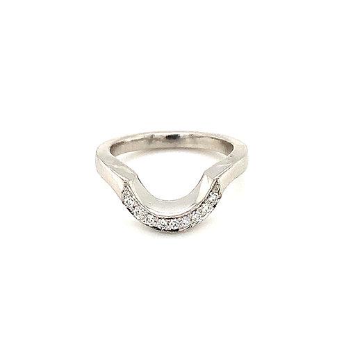 Cut to fit Diamond Wedding Ring