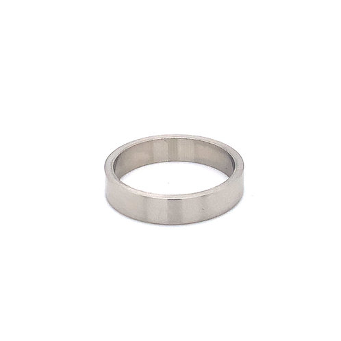 Ladies Flat Heavy Weight Wedding Ring