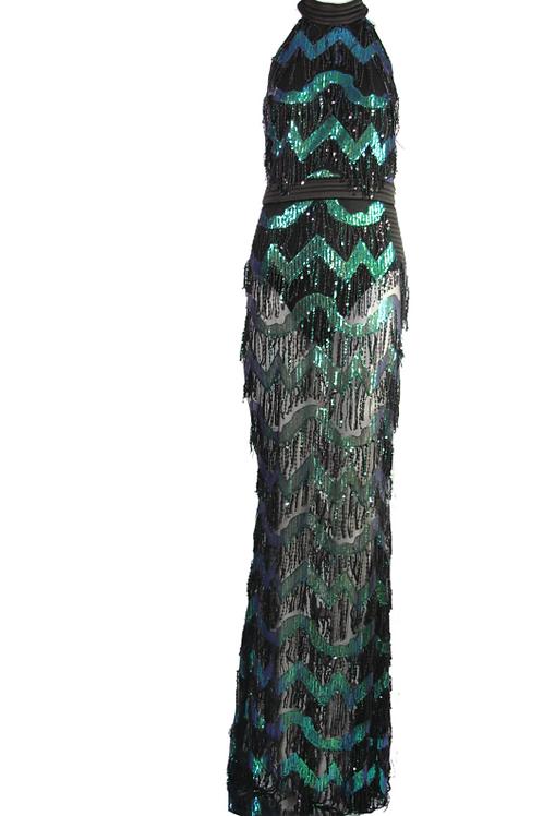 Wavy Tassel Dress