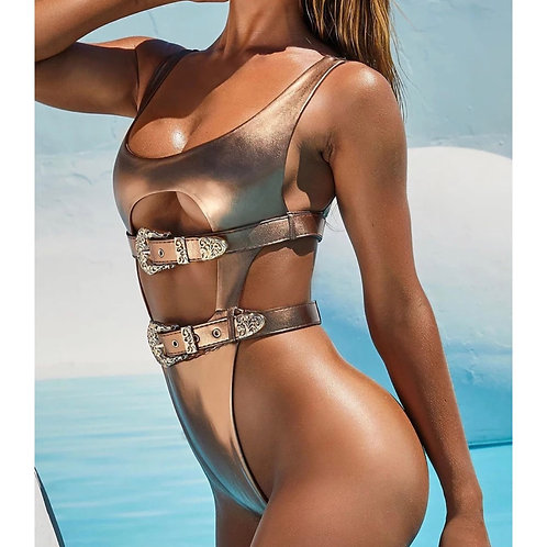 Metal Swimsuit (Ready to ship)