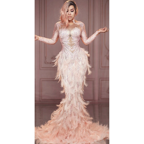 Feather Bomb Dress