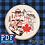 Thumbnail: Hand Embroidery Canada Design - PDF Pattern Download - Mountie & Horse