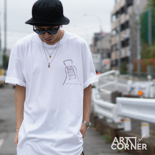 "ARTofCORNER White Edition Ⅱ ""shoelace"""