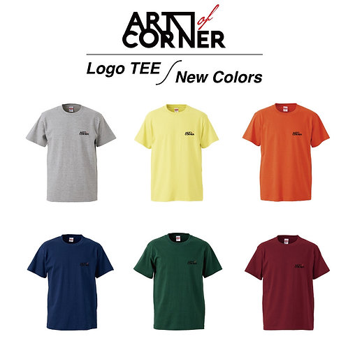 "ARTofCORNER ""Logo TEE New Colors"""