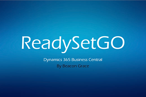 ReadySetGO Business Central Quickstart