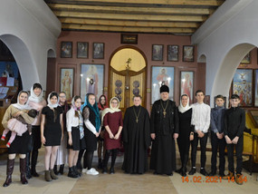 В год Александра Невского – молодежь храмов благочиния