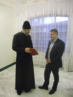 1.беседа о книге с о.Сергием Рыбкиным