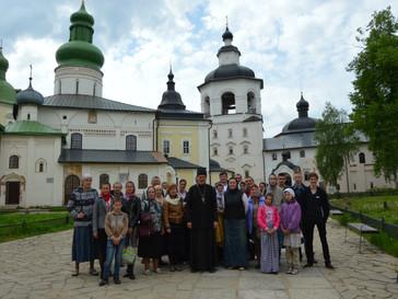 День  памяти Святителя Николая Чудотворца мы встретили в городе Кириллов