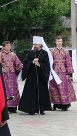 Литургия в храме Рождества Богородицы станицы Полтавской