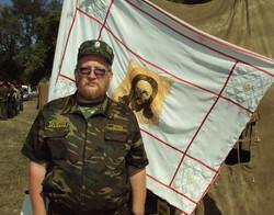 у Знамени казачьего полка