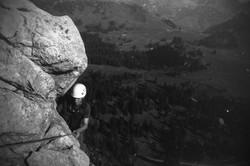 Niederhorn klettern