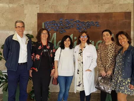 Afaprodis visita la Residencia Medinaceli de Villanueva del Pardillo
