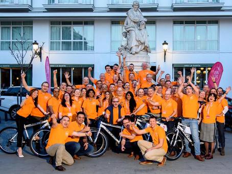 UPL dona siete bicicletas de montaña a Afaprodis