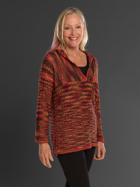 """Dancing Ladies"" knit Reversible Tunic"