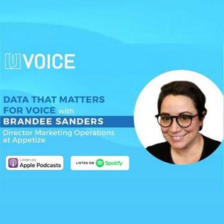 Data That Matters + Voice Tech