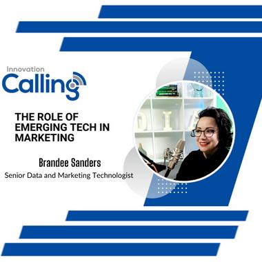 Innovation Calling - Featured Speaker Brandee Sanders