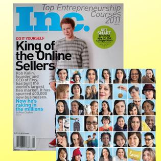 INC Magazine Featured Entreprenuer