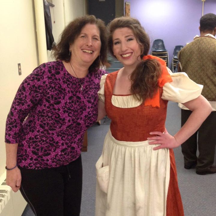 Backstage at A Tale of Cinderella!