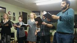 1st rehearsal!