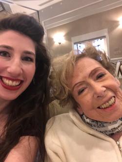 My piano teacher, Marlene Weinstein!