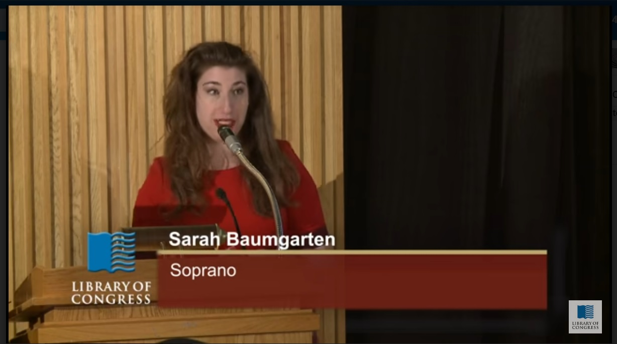 Library of Congress Performance!
